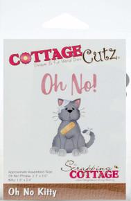 Cottagecutz Die-Oh No Kitty .9' To 2.4'