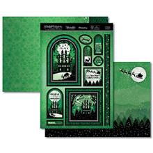 Hunkydory Twilight Kingdom A Magical Christmas- Christmas Kingdom 3-pc Topper Set