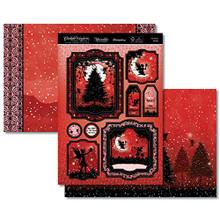 Hunkydory Twilight Kingdom A Magical Christmas- Christmas Wishes 3-pc Topper Set