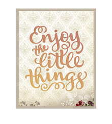 Couture Creations Enjoy the Little Things Die Set for Scrapbooking (CO724526)