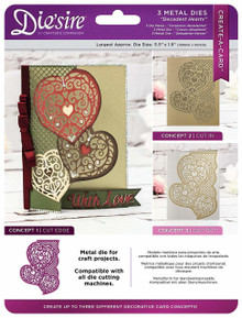 Crafter's Companion Create-A-Card Die'sire Decadent Heart