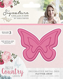 Crafter's Companion English Country Garden Flutter Away Floral VIne Edge