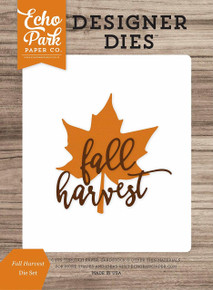 Echo Park Paper Company Fall Harvest Die Set