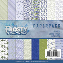 Jeanine's Art Frosty ornamnets 6X6 Paper Pack 23 2-Sided Sheets