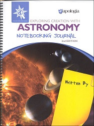 Apologia Exploring Creation with Astronomy Notebooking Journal 2 ED