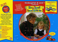 Sing, Spell, Read and Write Kindergarten & Level 1 Combo Kit
