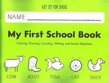 Pre-K My First School Book