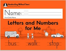 Kindergarten - Letters and Numbers for Me