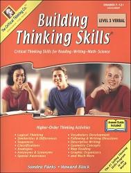 Building Thinking Skills 3 Verbal