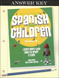 Spanish for Children B Answer Key