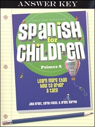 Spanish for Children A Answer Key