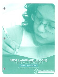 First Language Lessons for the Well-Trained Mind 4 Workbook