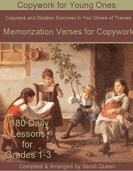 Copywork - Memorization Verses