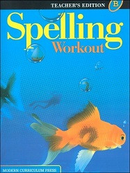 Spelling Workout B Teacher - 2002