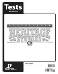 Heritage Studies 4 tests 3rd Edition