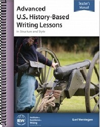 Advanced US History-Based Writing Lessons Teacher Book