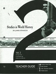 Studies in World History Volume 2 Teacher