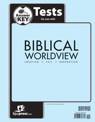 Biblical Worldview Test Key  (ESV)