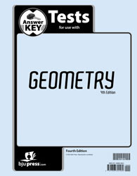 Geometry Test Key 4th Edition