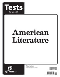 American Literature Tests 3rd Edition