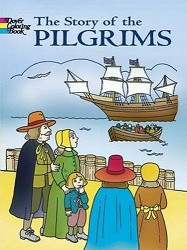 Story of the Pilgrims Coloring Book