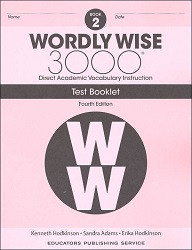 Wordly Wise 3000 Grade 2 Tests 4th Edition