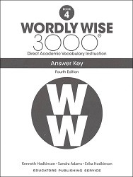 Wordly Wise 3000 Grade 4 Key 4th Edition
