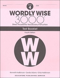 Wordly Wise 3000 Grade 4 Tests 4th Edition