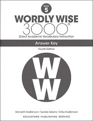 Wordly Wise 3000 Grade 5 Key 4th Edition