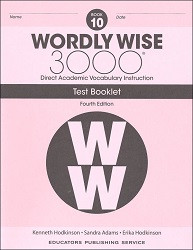 Wordly Wise 3000 Grade 10 Tests 4th Edition