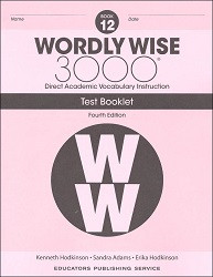 Wordly Wise 3000 Grade 12 Tests 4th Edition