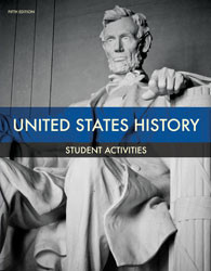 US History Student Activities 5th Edition