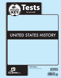 US History Test Key 5th Edition