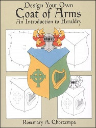 Design Your Own Coat of Arms Coloring Book