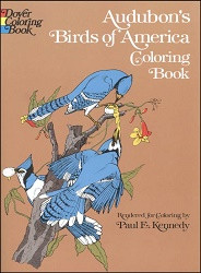 Audobon's Birds of America Coloring Book