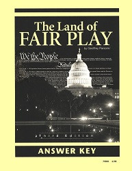 Land of Fair Play Answer Key