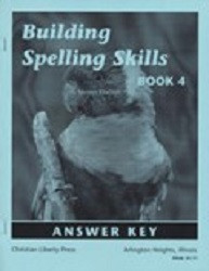 Building Spelling Skills Book 4 Answer Key