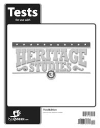 Heritage Studies 3 Tests (3rd ed.)