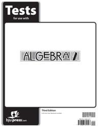 Algebra 2 Tests (3rd ed.)