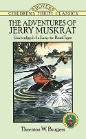 *One Free Book With Every $50* - Adventures of Jerry Muskrat