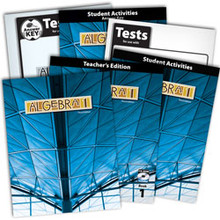 Algebra 1 Subject Kit  3rd edition