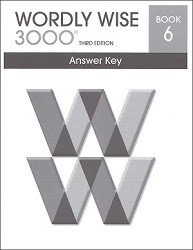 Wordly Wise 3000 Grade  6 Key