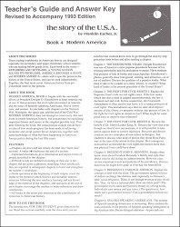 Story of the U.S.A. #4: Modern America Answer Key