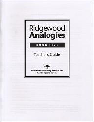 Ridgewood Analogies Book 5 Key