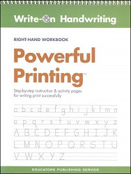 Powerful Printing Workbook (Right-Hand)