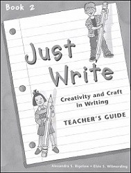 Just Write Book 2 Answer Key
