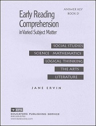 Early Reading Comprehension D Key
