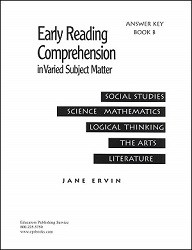 Early Reading Comprehension B Key