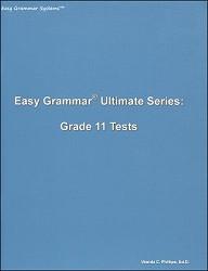 Easy Grammar Ultimate Series Grade 11 Tests
