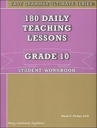 Easy Grammar Ultimate Series Grade 10 Workbook
